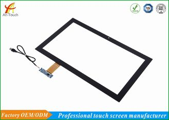 Panel Layar Sentuh Capacitive Touchscreen Transparan 21,5 Inch 3.0mm Cover Lens