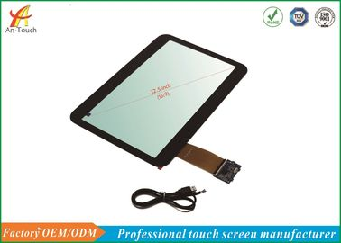 Cina USB POS Touch Panel, 12,5 Inch Mesin ATM Touch Screen Untuk Touch Monitor pabrik