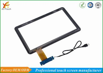 Free Driver USB Touch Screen Panel 14 Inch 86% Min Transmittance Untuk Mesin Game