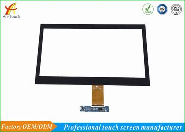 Cina 14 Inch Waterproof Touch Panel Panel Kaca, Multi Touch Screen Overlay Kit pabrik
