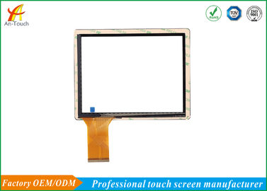 Fleksibel 8 Inch POS Touch Panel Dengan USB Port Cover Glass + ITO Glass