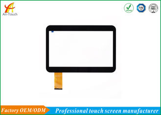 OEM LCD Capacitive Car Touch Panel Multi Touch 10 Point Penggunaan Eksternal