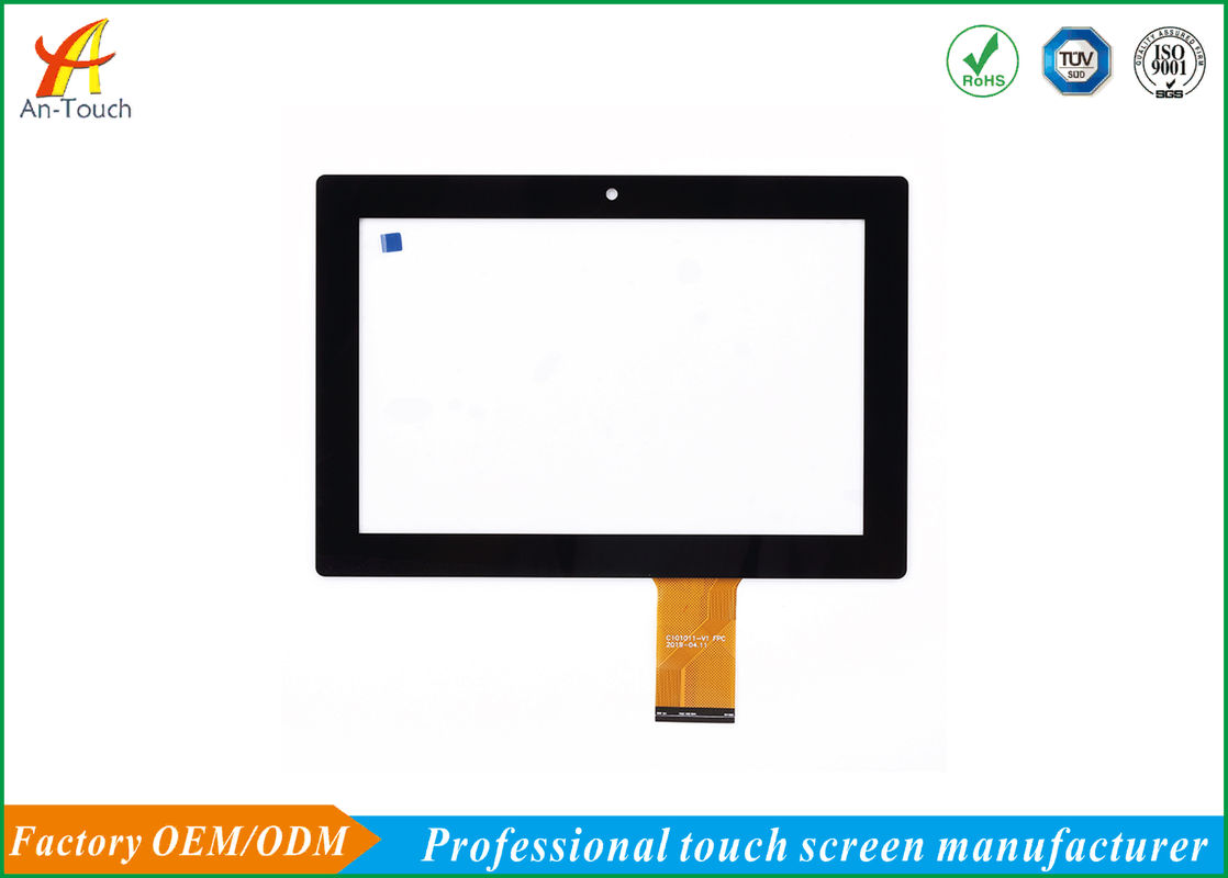 Waterproof Full HD Industrial Touch Panel Aluminium Alloy Bezel Depan pemasok